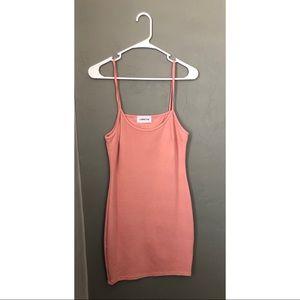 Pink Strappy Dress